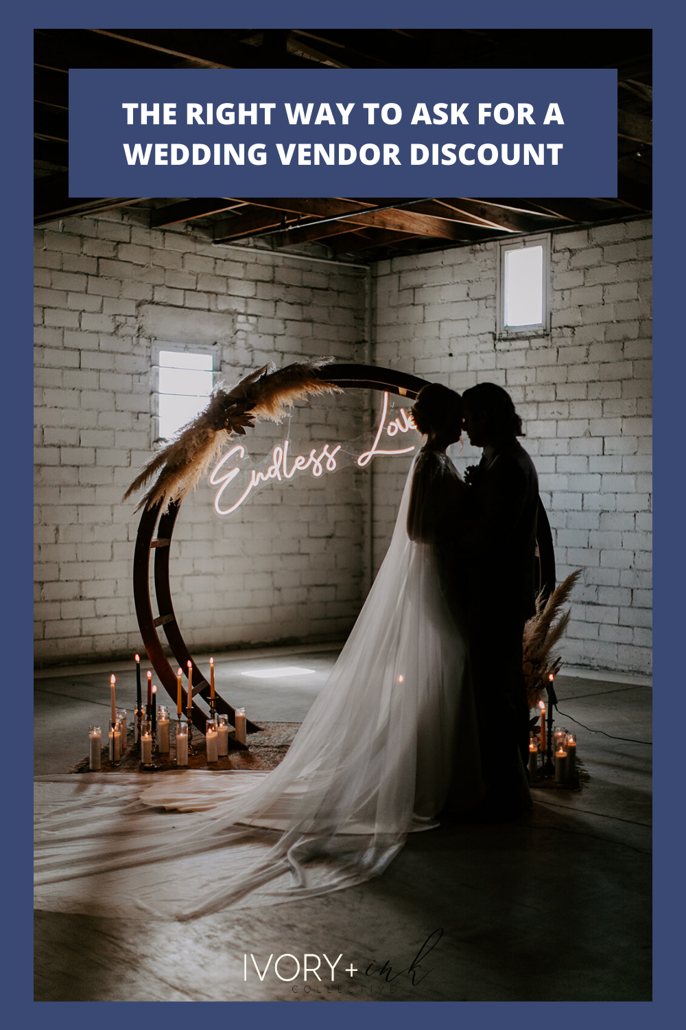 The Right Way to Ask for a Wedding Vendor Discount - originally published on ivoryandink.com