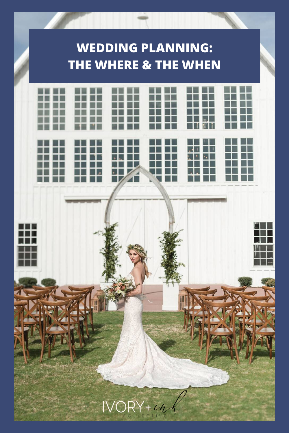 Wedding Planning - The Where & The When - originally published on ivoryandink.com