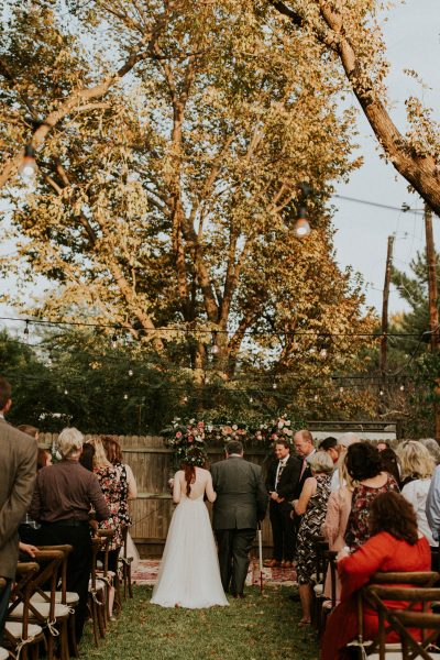 Is a Backyard Wedding for You - IVORY+ink Co.