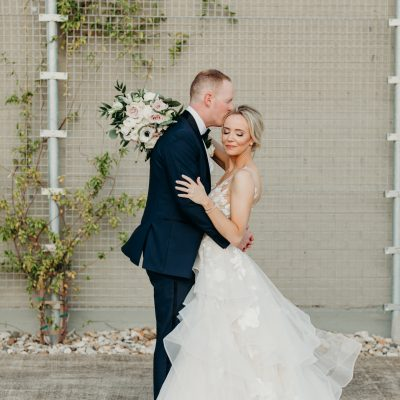 ROMANTIC SUMMER WEDDING AT ON THE LEVEE IN DALLAS